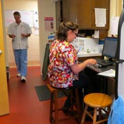 Dog vaccinations preparation at Smith Animal Clinic